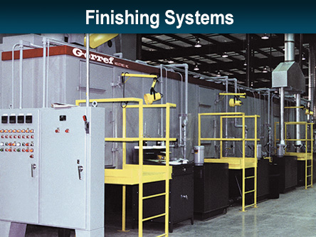 finishing systems