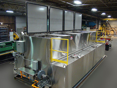 Gerref Industries Caustic Die Cleaning Systems